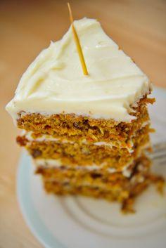 Rye Carrot Cake