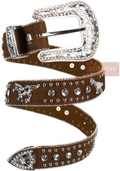 Cinto Infantil em Couro Cavalo com Strass    Cinto Infantil em Couro com Pedrarias Importado. Estilo Cowgirl, Cowgirl Style, Moda Country, Looks Country, Estilo Country, Western Girl, Cowgirls, Bling, Belt