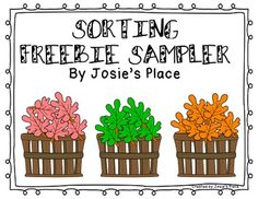 SORTING FREEBIE