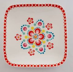 Dot Art Painting, Mandala Painting, Ceramic Painting, Mandala Art, Stone Painting, Mandala Painted Rocks, Mandala Rocks, Hand Painted Pottery, Painted Pots