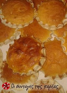 Greek Cookies, Greek Sweets, Muffin, Fish, Meat, Breakfast, Recipes, Godmothers, Easter