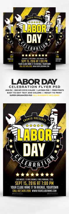 Labor Day Banners  FontsLogosIcons    Labor Labor