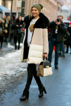 20 Outfits That Prove Puffer Coats Can be Stylish | StyleCaster