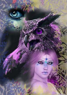 Beautiful Nature Wallpaper, Beautiful Artwork, Dark Fantasy Art, Fantasy Artwork, Butterfly Eyes, Fairy Wallpaper, Wolves And Women, Eyes Artwork, Pagan Art