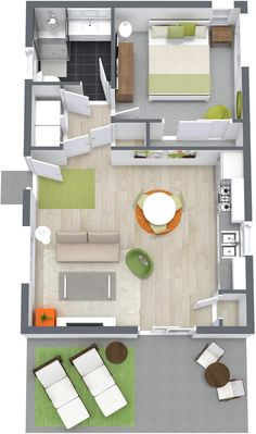 The Irvine Floor Plan · Granny FlatStress FreeRefrigeratorFloor PlansHome  ...