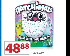 Walmart has a Black Friday deal on this year's hard-to-find toy called Hatchimals.