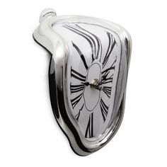 This is the perfect addition to an art lover's home creating a great conversation piece. You can easily place this homage to Salvador Dali's Persistence Of Memory on a mantle or shelf - no mounting required. With this great Dali clock, time doesn't fly: it melts away.