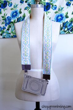Camera Strap...new from GreenBeing!