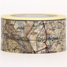wide map mt Washi Masking Tape deco tape 1