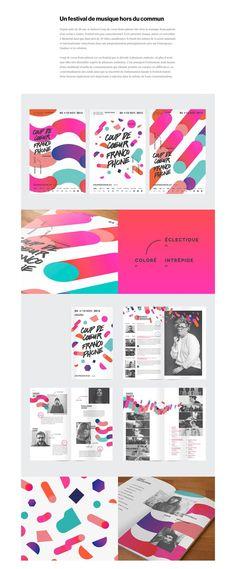 Akufen a été mandaté pour la direction artistique, le développement Web ainsi que la création de multiples outils de communication pour l'édition 2015 du festival Coup de coeur francophone.