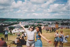Glastonbury festival 2015, disposable camera photos.