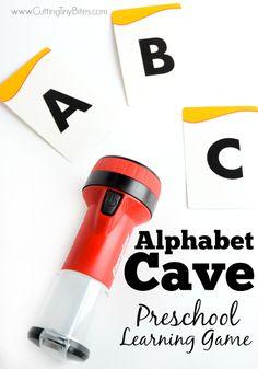 Alphabet Cave- Presc