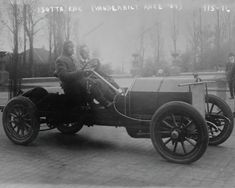 Excellent condition, brand new chemically processed in photo lab. Original vintage old photos reproduced into contemporary prints. We sell no original old photos. Vanderbilt Isotta Car In Auto Race 19