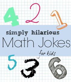 Looking for funny jokes for kids? to make your school days rememebring again. There are top 20 hilarious school jokes for kids i am sharing. Funny Math Jokes, Funny Jokes For Kids, Math Humor, Kid Jokes, Funny Math Posters, Funny Science, Funny Puns, Math Teacher, Math Classroom