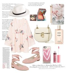 """""""Untitled #135"""" by coffeegirl233 ❤ liked on Polyvore featuring MANGO, rag & bone, Kenneth Cole, Benefit, Chloé, Ted Baker, Chanel, H&M, Casetify and Charlotte Russe"""