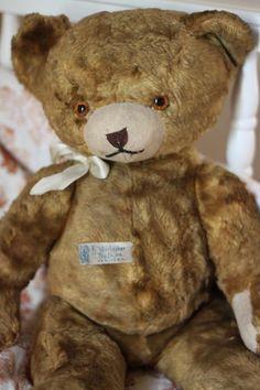 Vintage Teddy Bear Photograph