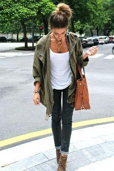 Veste blanche en jean femme