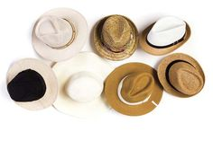 Elegidos en sombreros veraniegos  Foto:CRISTHIAN SEGOVIA