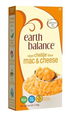 Earth Balance Vegan Cheddar Mac & Cheese