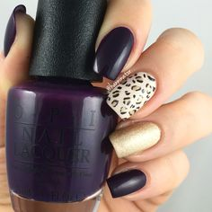 Simple leopard nails   O Suzi Mio - Be there in a Prosecco - Love.Angel.Music.Baby. - My gondola or yours?
