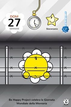 http://itunes.com/apps/BeHappyDays  Be Happy Project celebra la Giornata della Memoria.