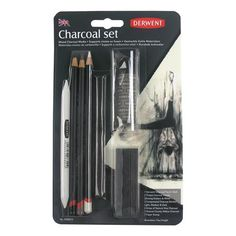 Derwent Charcoal Mixed Blister Set, $10 !!