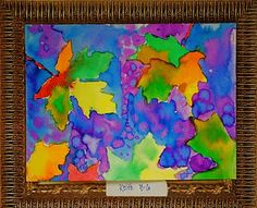 Art Projects from MN Art Gal: autumn paintings. Fall Art Projects, School Art Projects, Thanksgiving Art Projects, Autumn Painting, Autumn Art, Watercolor Projects, Kids Watercolor, Liquid Watercolor, Watercolor Leaves