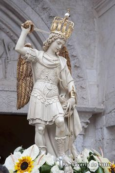 Image result for saint michael archangel statue at gargano