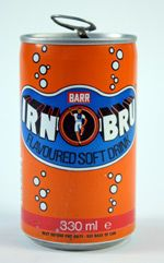 """A can of Irn-Bru, for some say the drink """"made from girders"""" is more of a national favourite than whisky."""