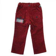 Stretch Velveteen Pants