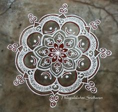 Rangoli and Art Works: Margazhi 2015 - Day 8 kolam