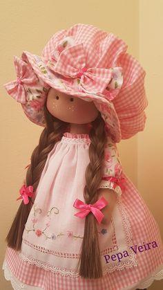 Rag dolls Handmade doll Fabric doll Tilda doll Rag doll Cloth Doll Red hair Made in the UK Ooak doll GRACE inches tall Plush Dolls, Doll Toys, Diy Rag Dolls, Dream Doll, Doll Painting, Fabric Toys, Polymer Clay Dolls, Waldorf Dolls, Soft Dolls