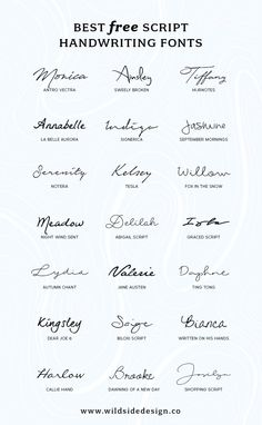 To save you time and effort, I've put together a list of my favorite script handwriting fonts that are completely free. Pretty, casual and authentic… The post Best Free Script Handwriting Fonts appeared first on Garden ideas. Watch Tattoos, New Tattoos, Cool Tattoos, Tatoos, Simple Word Tattoos, Kid Name Tattoos, Tattoo Kids Names, Tattoos For Children, Kid Tattoos For Moms
