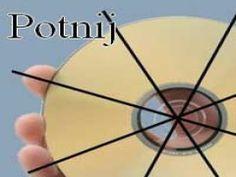 Unikatowe kolczyki z płyt CD