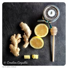 Home Remedy: 48/366     Ginger Tea