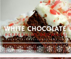 Perfect for gifting, holiday parties, family get-togethers, or simply easing you into the Christmas spirit, a rich brownie is topped with a fluffy layer of white chocolate frosting and completed with chopped Hershey's kisses, for a festive take on a classic treat that no one will be able to resist!  #sugar. #christmasrecipes #whitechocolate #peppermint #holidaybaking White Chocolate Frosting, White Chocolate Candy, Latest Recipe, Baking Tips, Holiday Baking, Candy Cane, Holiday Parties, Kisses, Peppermint