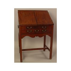 New-York Historical Society   Slant-front desk