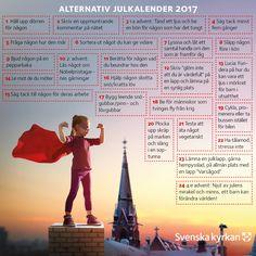 Swedish Christmas, Christmas Crafts, Christmas Ornaments, Lutheran, Seasons, December, Bullet Journal, Alternative, Advent Calenders