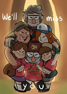We'll miss you, Gravity Falls.