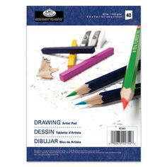 Bulk Buy: Royal Brush Essentials Artist Paper Pads Drawing 100 Sheets - man tips Paper Manufacturers, Cloth Paper Scissors, Paper News, Drawing Letters, Design Your Dream House, Sketch Pad, Drawing Artist, Ms Gs, Magazine Art