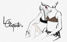 Les Coquettes - Last Saturday, I went to La Petite Coquette.  La Petite Coquette is right on my block. It might be one of the best lingerie stores in New York but yet still has a very real vibe. It doesn't feel