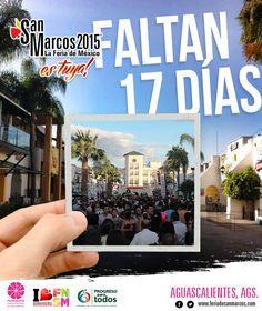 17 dias para comenzar la #FeriaNacionalDeSanMarcos