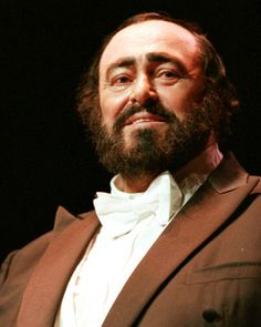 Luciano Pavarotti A voice only God hands out to certain people.