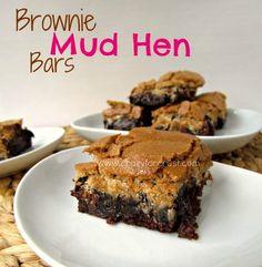brownie mud hen bars recipe