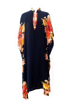 Oversized Ethnic Inspired Women Dress / Tribal by MikiBeFashion, $259.00