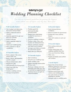 Wedding Planning Checklist: Have a wedding checklist on hand to keep yourself organized during this busy time. Create a general timeline for brides who need reminders that they're on track. Budget Wedding, Wedding Tips, Wedding Events, Our Wedding, Dream Wedding, Wedding Stuff, Trendy Wedding, Wedding Punch, Wedding Blog