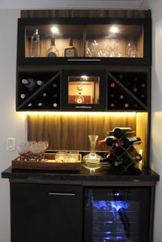 Adega e charutaria #adega #charuraria #habano #vinhos #vinos #wine #marcenaria