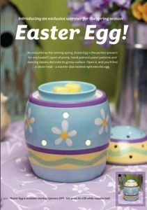 Take a look at our new spring warmer Easter Egg! Its out to buy now and is similar to our Cupcake warmer. Its three parts and would look great leading up to Easter.    #scentsy #scentsy uk