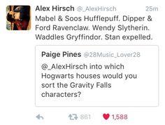 Afbeeldingsresultaat voor gravity falls hogwarts grunkle stan