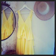 Yellow Spring Dress, de Kling